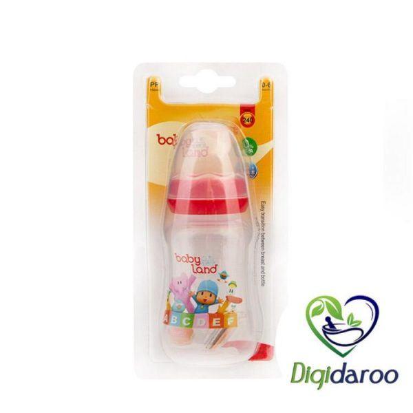 شیشه شیر کودک 240 بیبی لند