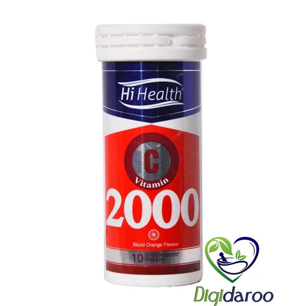 قرص جوشان ویتامین ث 2000 های هلث